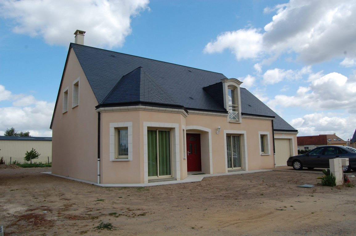 r u00e9alisation  construction de maison contemporaine en